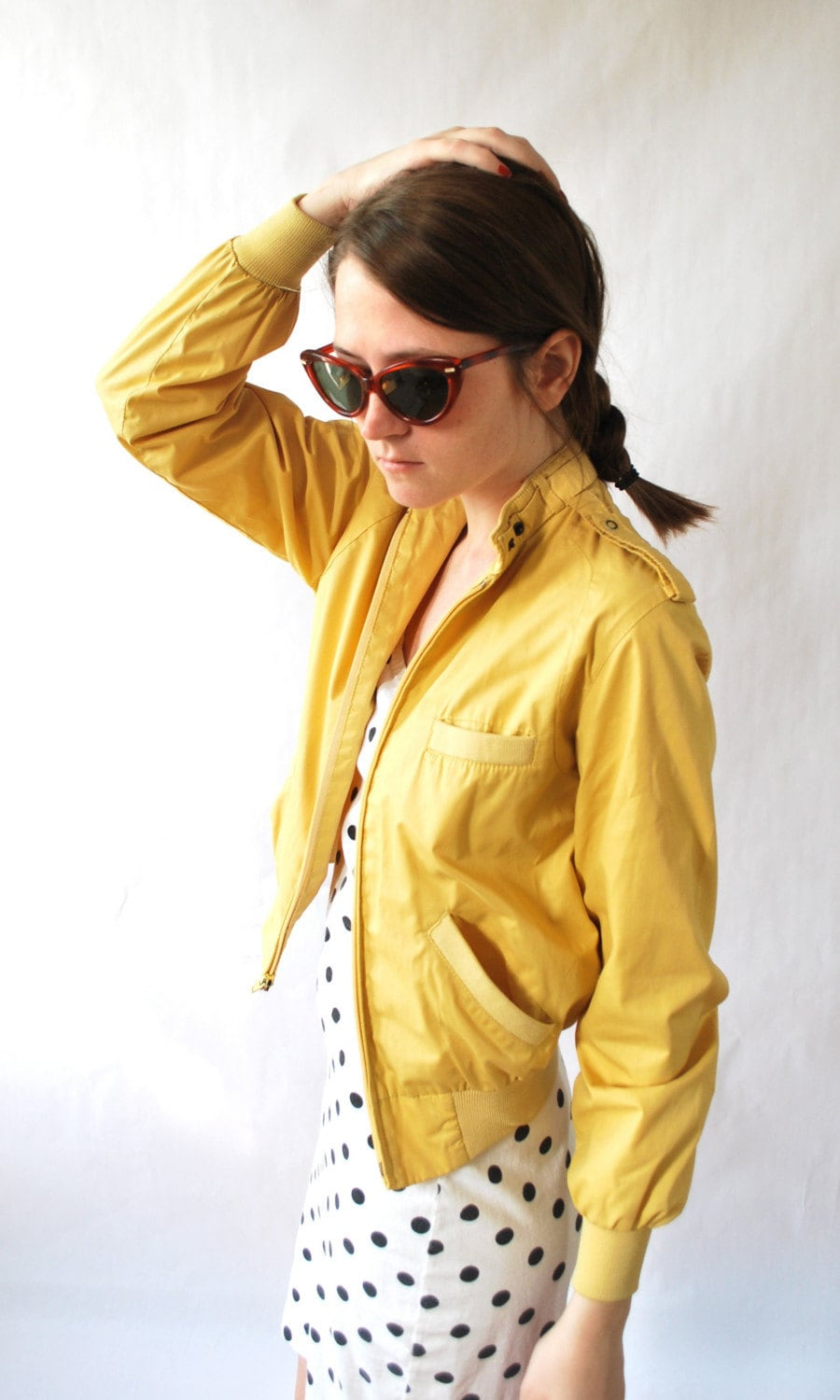 Vintage Women's Members Only Jacket by HereandThereVintage on Etsy