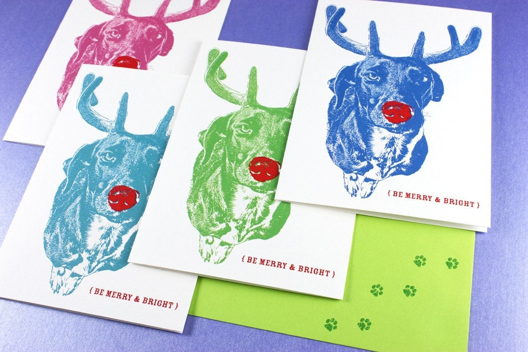 ADD Merry and Bright Custom Holiday Cards to Any Portrait Order