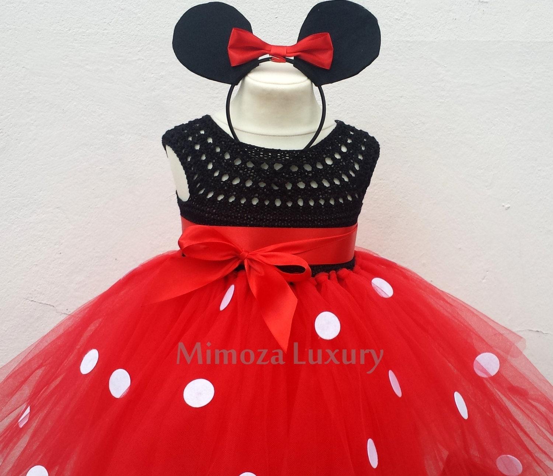 Mickey mouse dress mickey mouse birthday dress Flower girl dress birthday tutu dress miki mouse theme princess dress