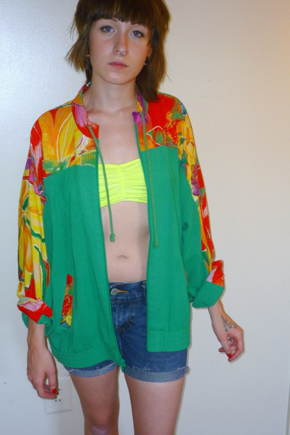Tropic Jacket by GoddessVintage on Etsy
