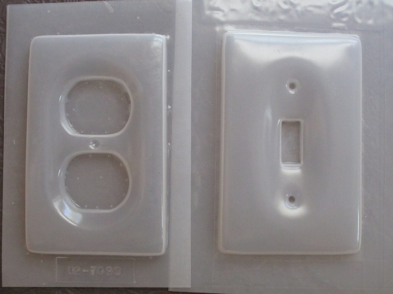 resin mold light switch plate and outlet by stainedglasskarin. Black Bedroom Furniture Sets. Home Design Ideas