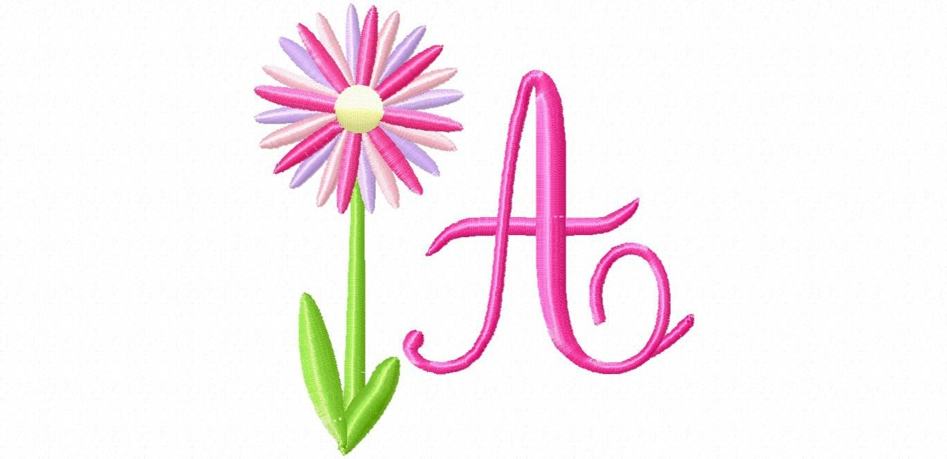 ABC: Embroidery Fonts Embroidery Alphabets, index