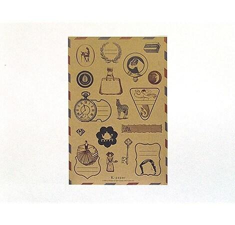 vintage garden sticker