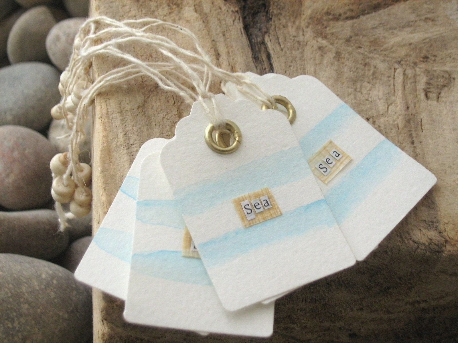 Handmade  Gift Tags - The Seven Seas