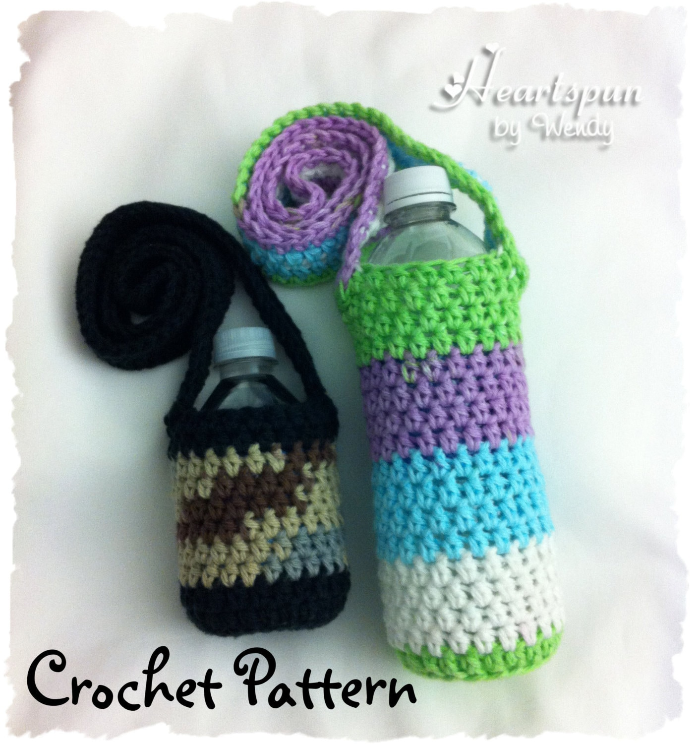 Free Crochet Pattern Water Bottle Holder : Free Water Bottle Holder Pattern just b.CAUSE