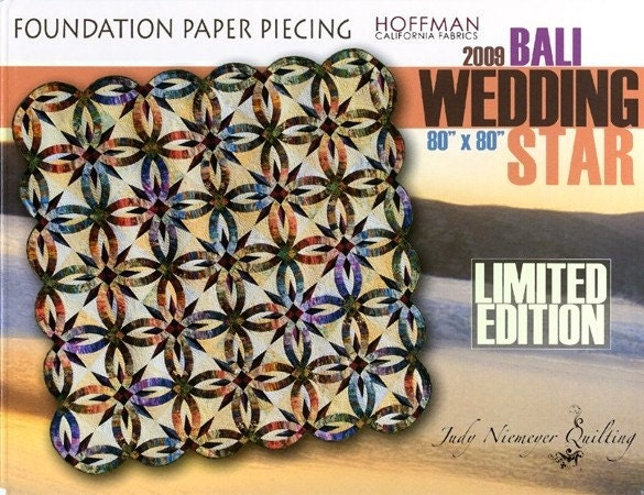Bali Wedding Star New 2014 Edition Paper By Undercoverquilts