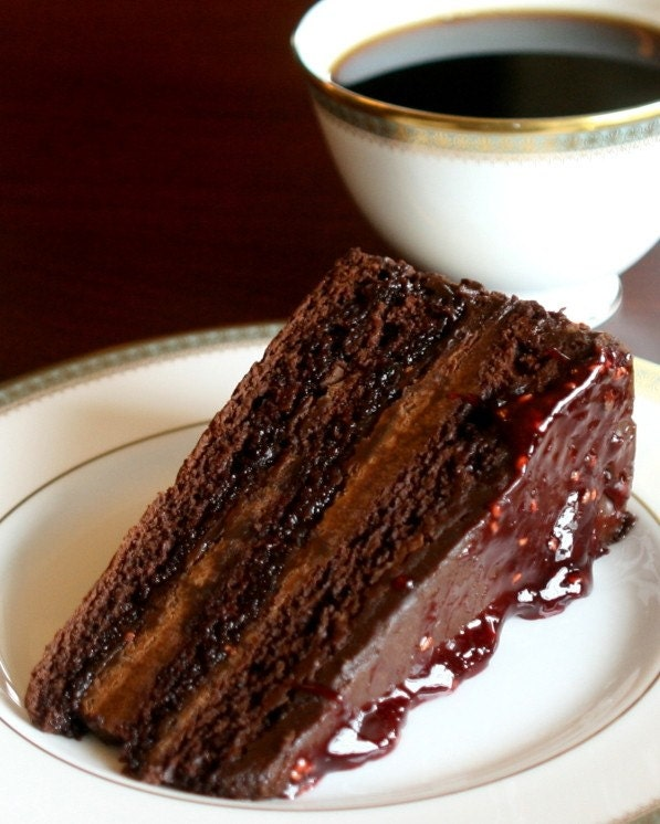 Chocolate Cake, 8x10 Fine Art Photography Print,
