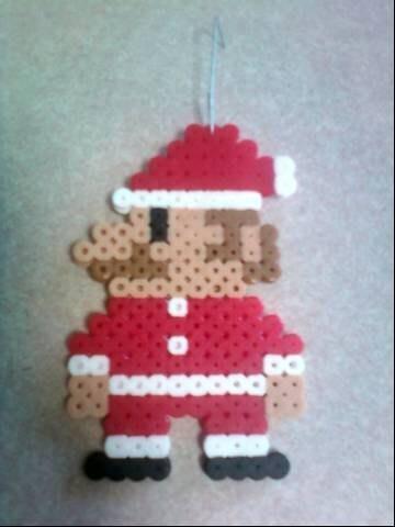 Santa Mario ornament