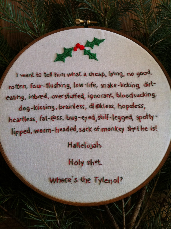 rant on christmas vacation next image - Christmas Vacation Rant