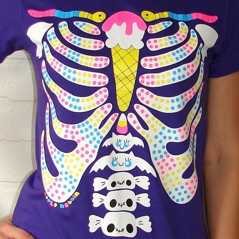 Candy Rib Cage Tee