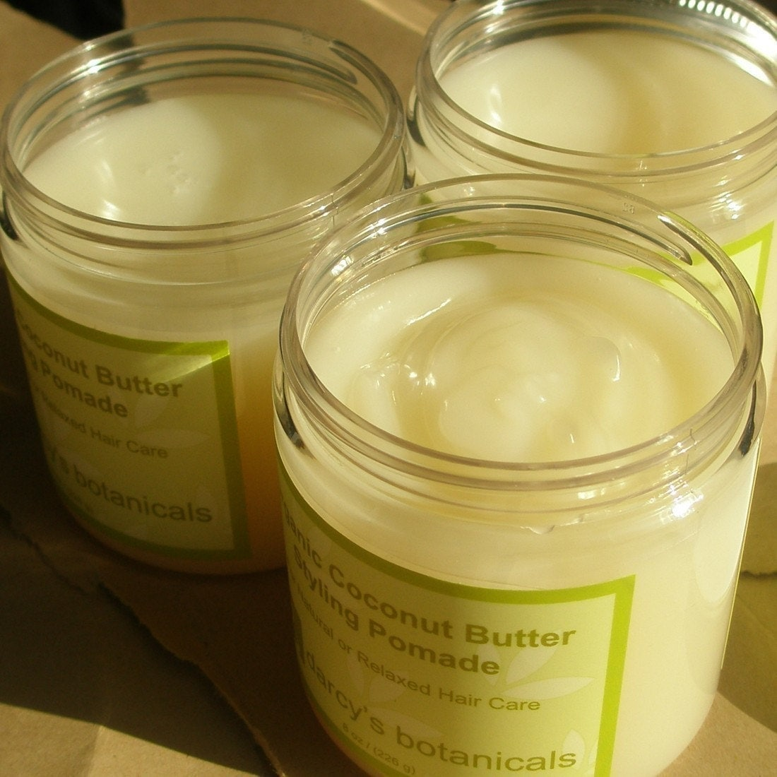 Organic Coconut Butter Styling Pomade