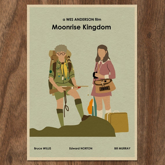 MOONRISE KINGDOM Limited Edition Print