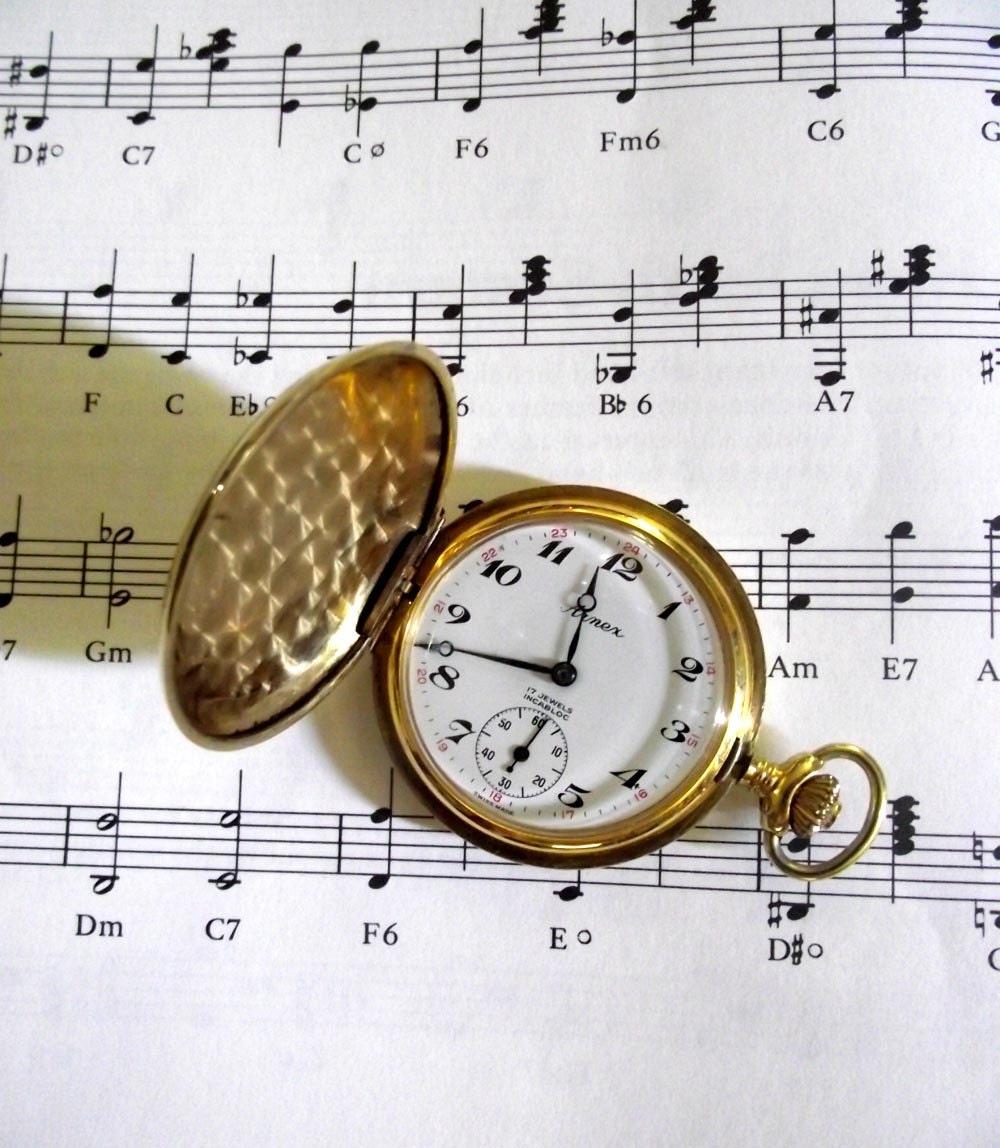 Vintage Arnex 17 Jewel Incabloc Pocket Watch