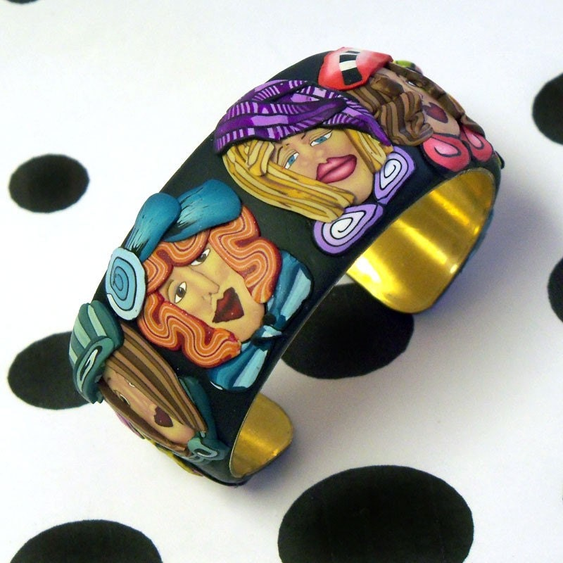 Girlfriends Galore Cuff Bracelet