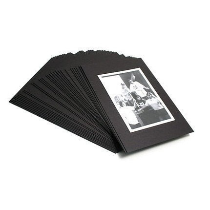 4x6 photo box (30 sheet black )