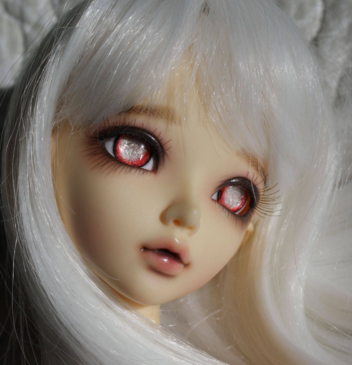 BJD eyes Doll eyes Hand made available in 12141618202224mm Scarlet Siren made to order