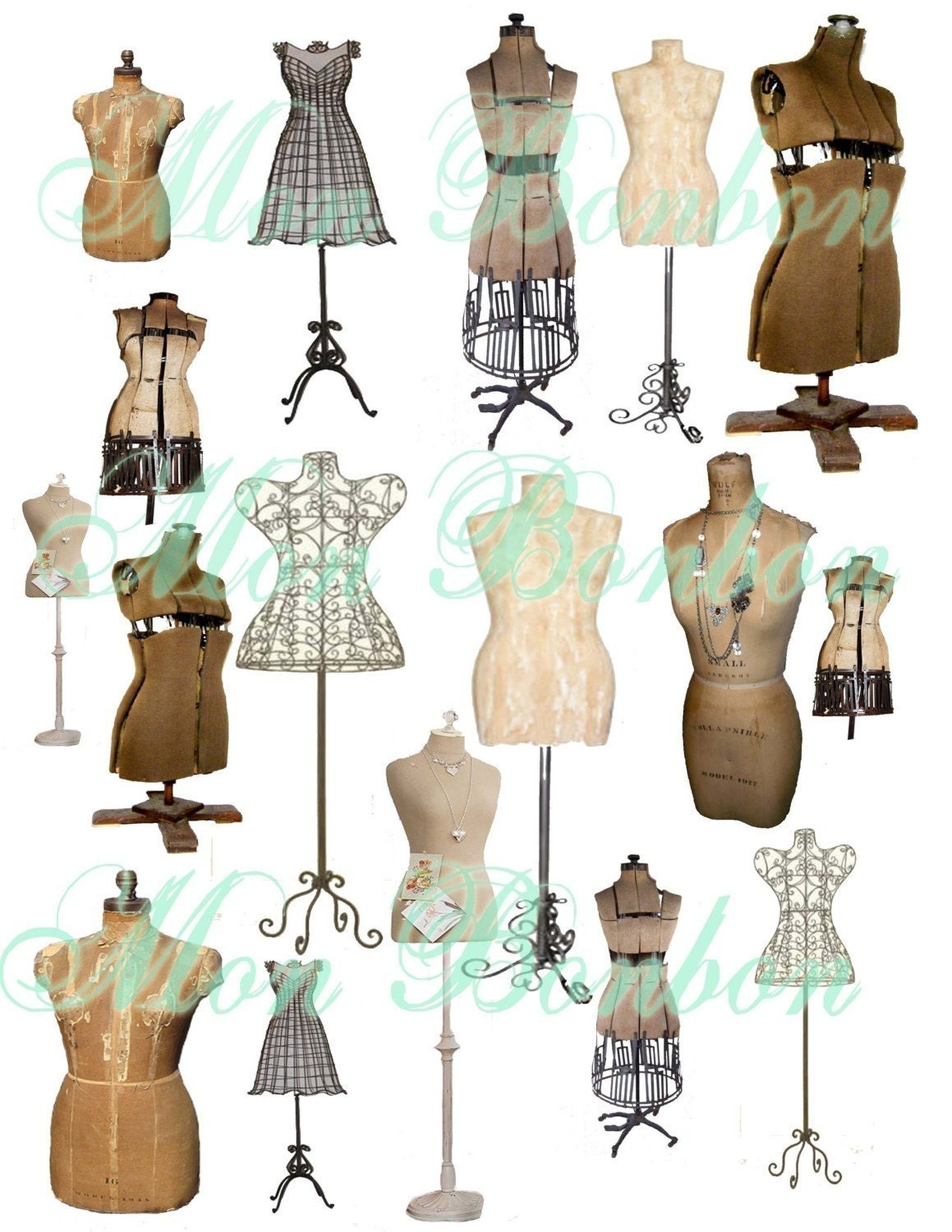Vintage Dress Forms For Sale