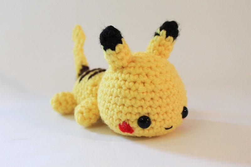 Mini Pokemon Pikachu Amigurumi Made to Order by ...