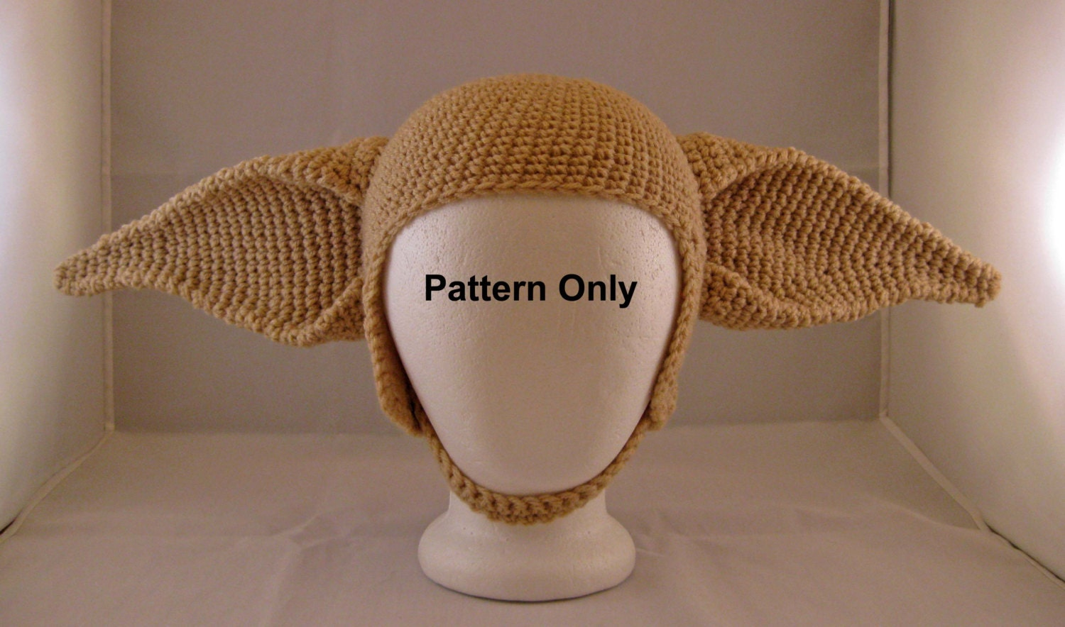 PATTERN: Elf Ears Crochet Hat Adult by FunDesignsByDiana on Etsy