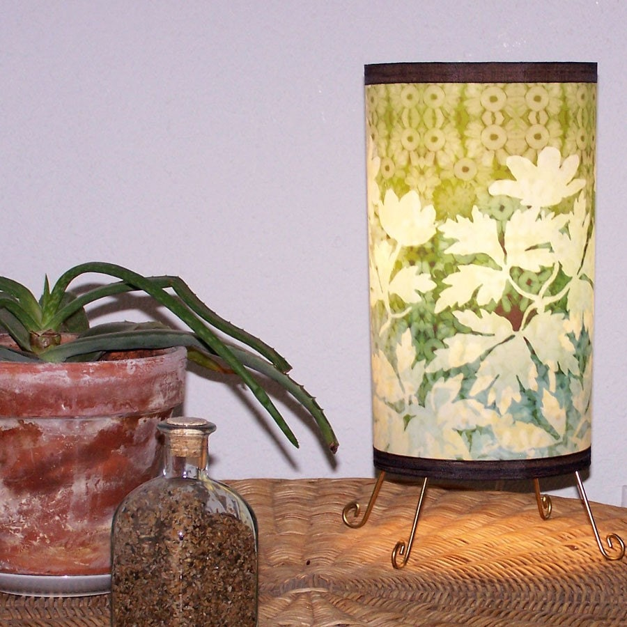 Etsy :: Mwilson :: Going Green Rain Forest Dream Luminescent Lamp from etsy.com