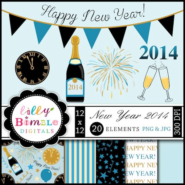 """New Years Eve Clip Art 2014 Search Results for """"..."""