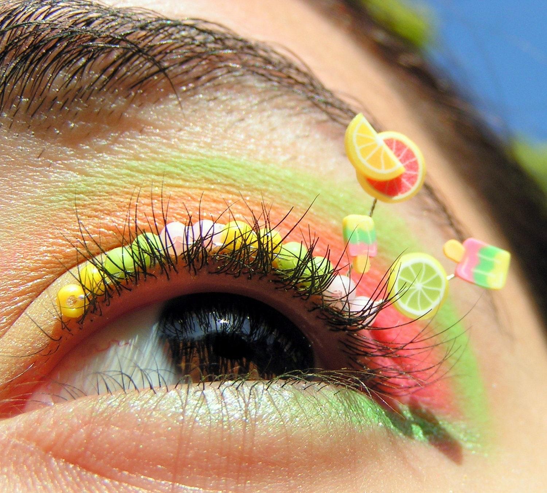 Summer Citrus Popsicle Eyelash Jewelry - EyelashJewelry
