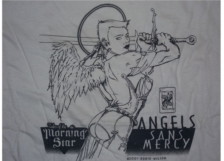 Tales of the Morning Star Onyx One Wing tshirt XXXL