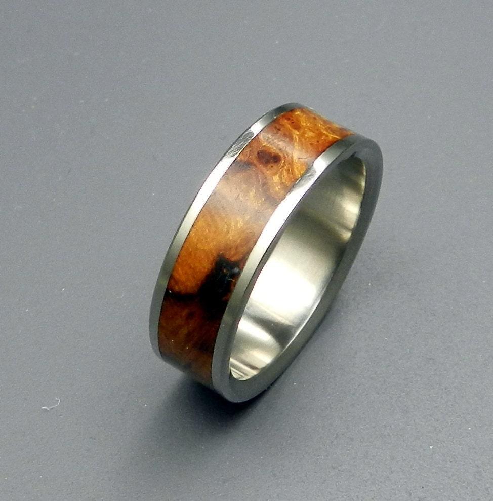 helios wooden wedding rings by minterandrichterdes on etsy