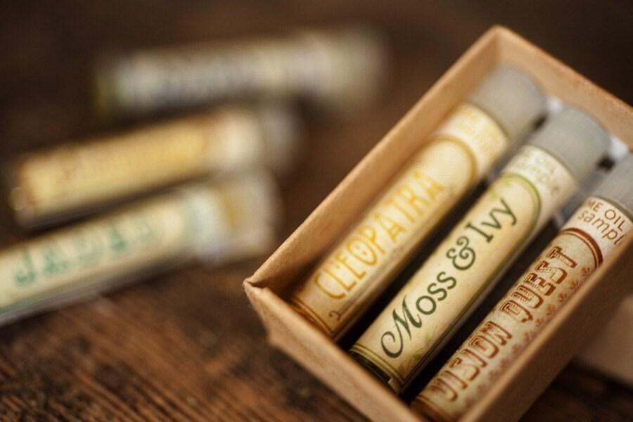 Natural Botanical Perfume Oils - Mini Mix-and-Match Set