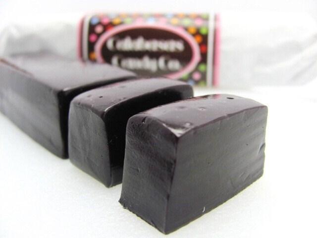 1/4 lb. Uncut Licorice Caramel