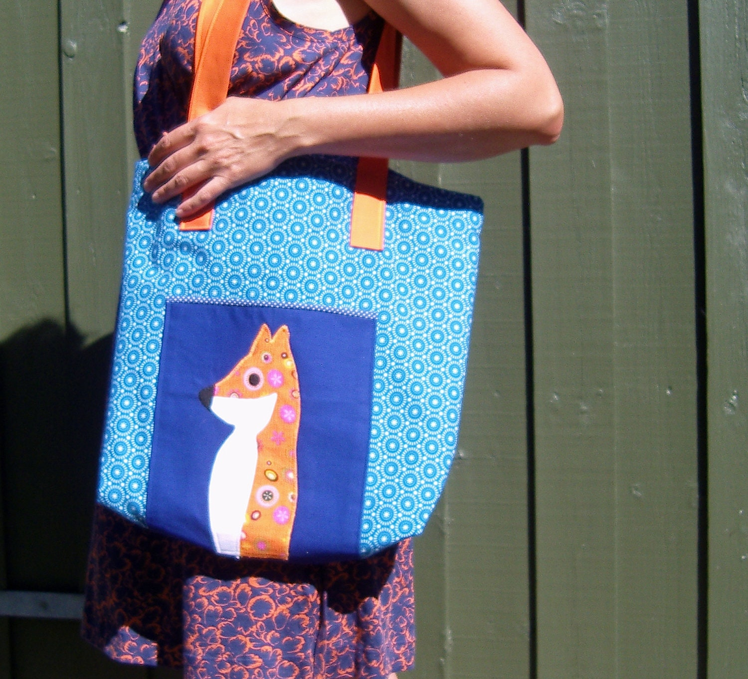 Shopping bag - multi funktionel bag in blue