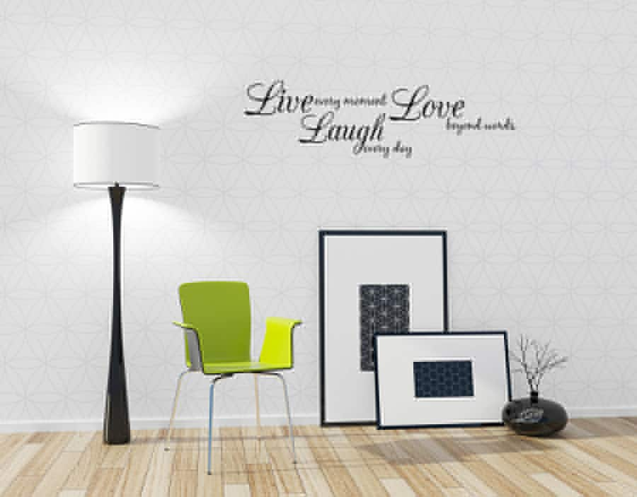 Vinyl wall decal quotes