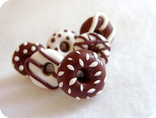 Chocolate Donut Pushpins