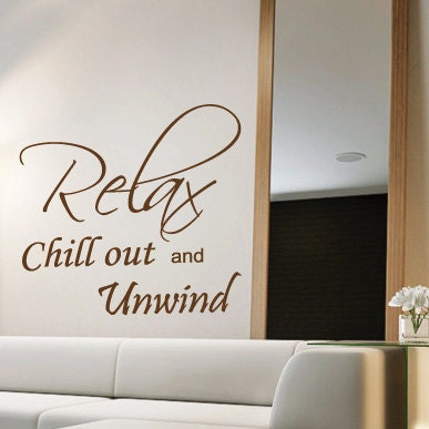 relax bedroom wall quotes art wall stickers wall decals wall mural
