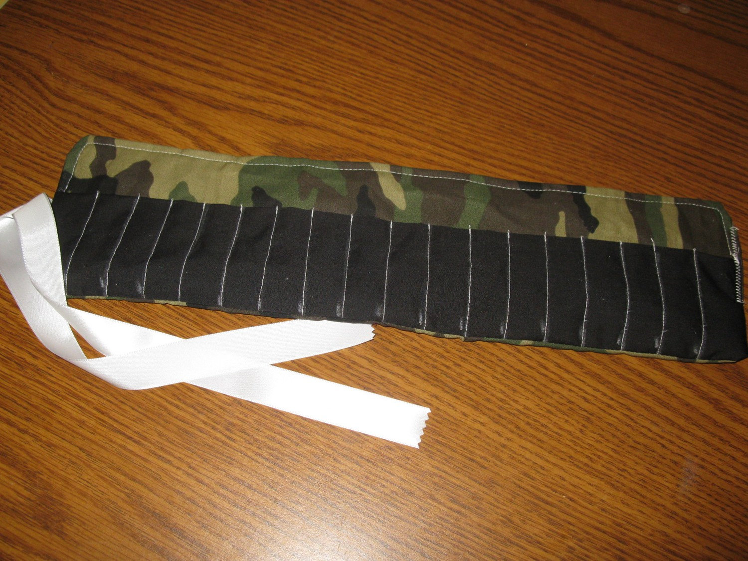 Camo Crayon Roll Crayon Holder Crayon Storage