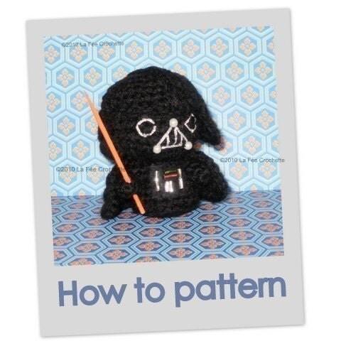 Amigurumi Snake Pattern Free : Amigurumi Little Darth Vader Star Wars crochet by ...