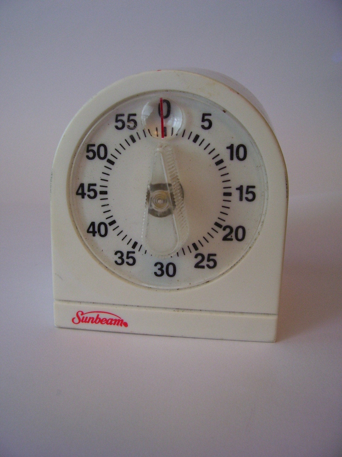 Vintage Sunbeam Kitchen Timer With A Great By