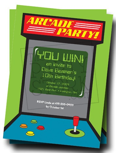 It's just a photo of Exceptional Free Printable Video Game Party Invitations
