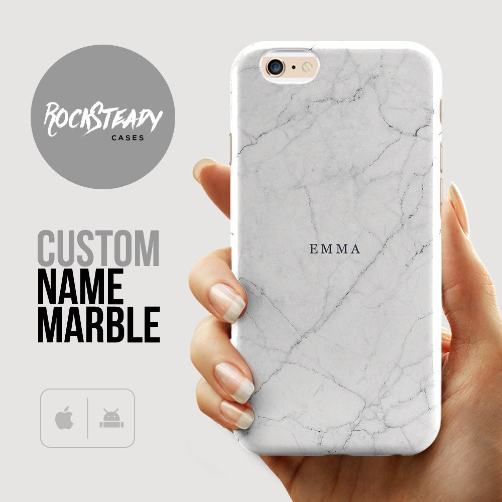 Custom Name marble iPhone 6s case iPhone 6 case iPhone 6 Plus case samsung s7 case iPhone 5s 5C case Personalized Name gift s6 S5