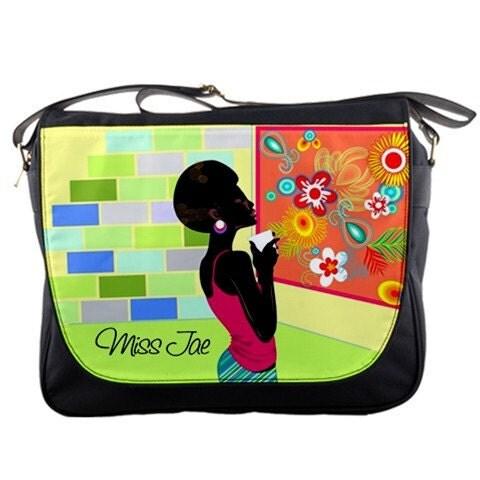 Artsy Sistah Personalized Messenger Bag