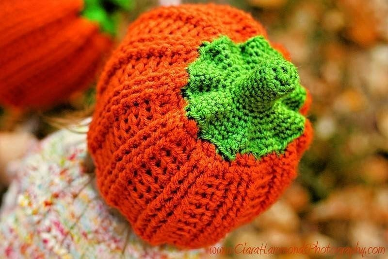 Ribbed Pumpkin Beanie crochet pattern 22