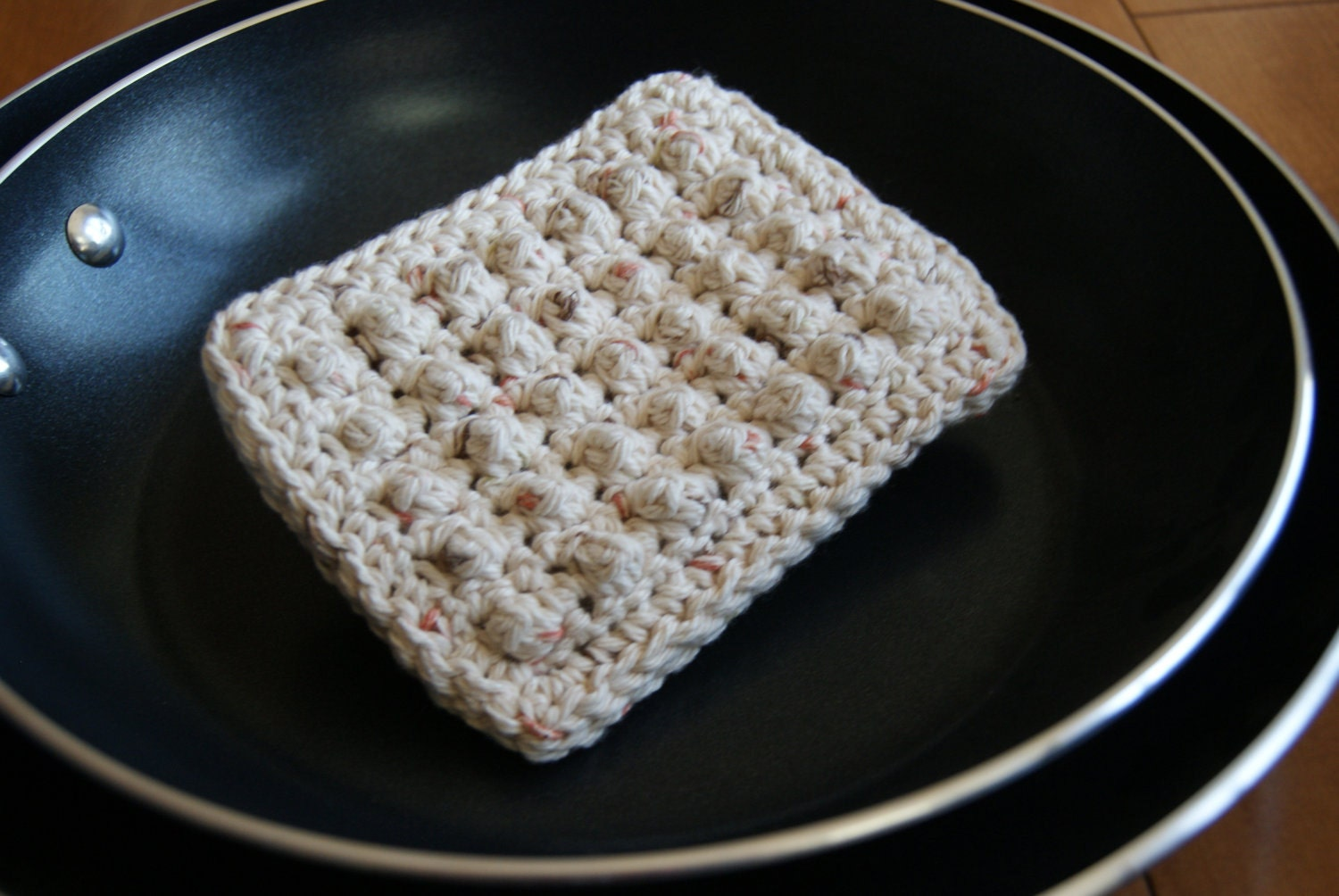 Crochet Kitchen Scrubbies : CROCHET PATTERN Dish Scrubber Sponge by WarfelCrafts on Etsy