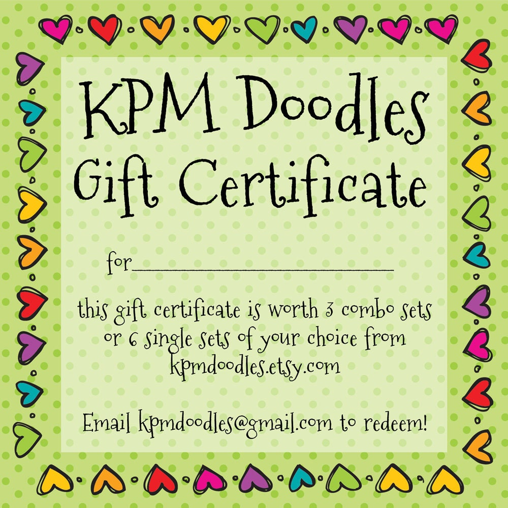 Gift Certificate 10.00