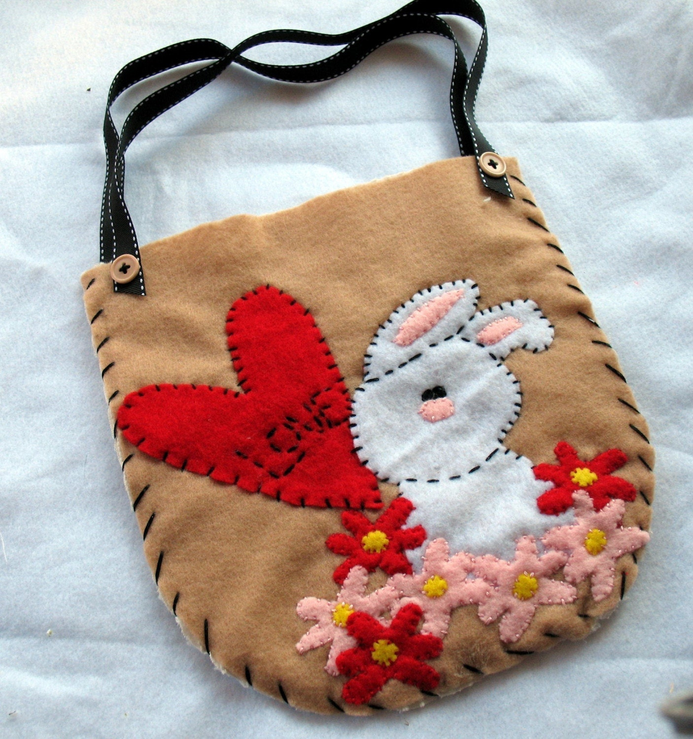 Love Bunny- Little Girl Purse