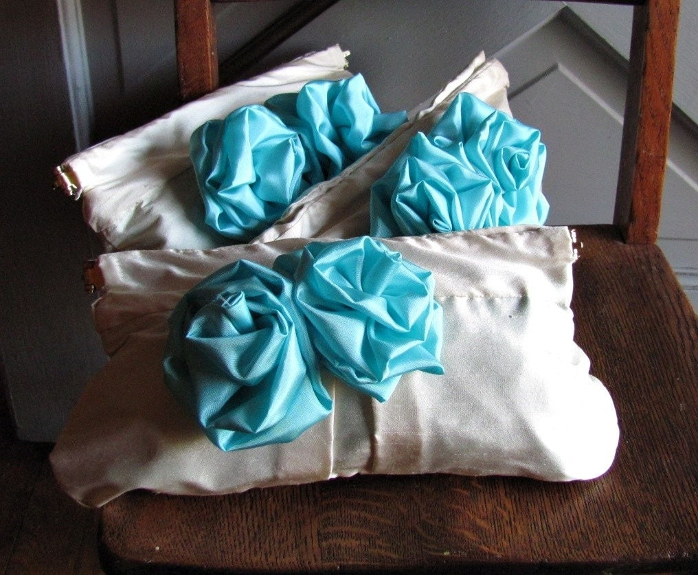 Bridesmaid Clutches - Set of Three - CUSTOM