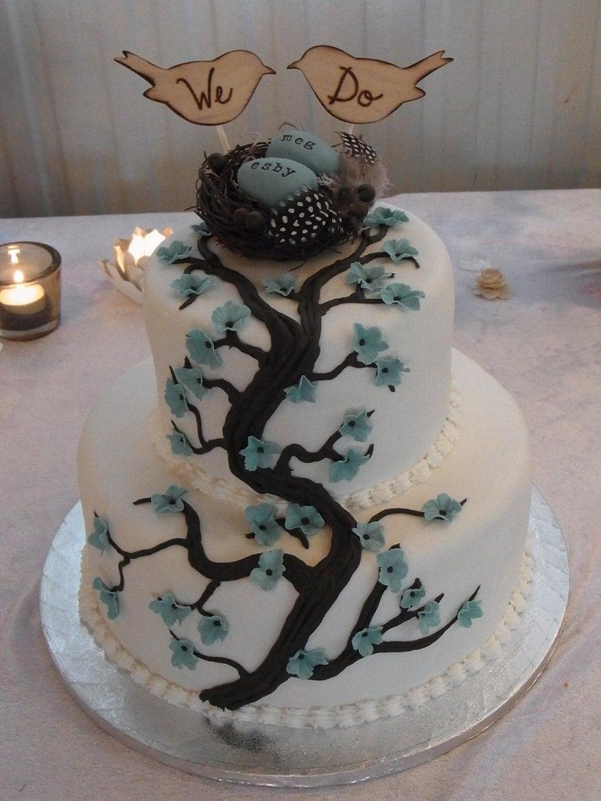 Items Similar To LARGE Love Birds We Do Cake Topper Rustic Wedding Item E10551 On Etsy