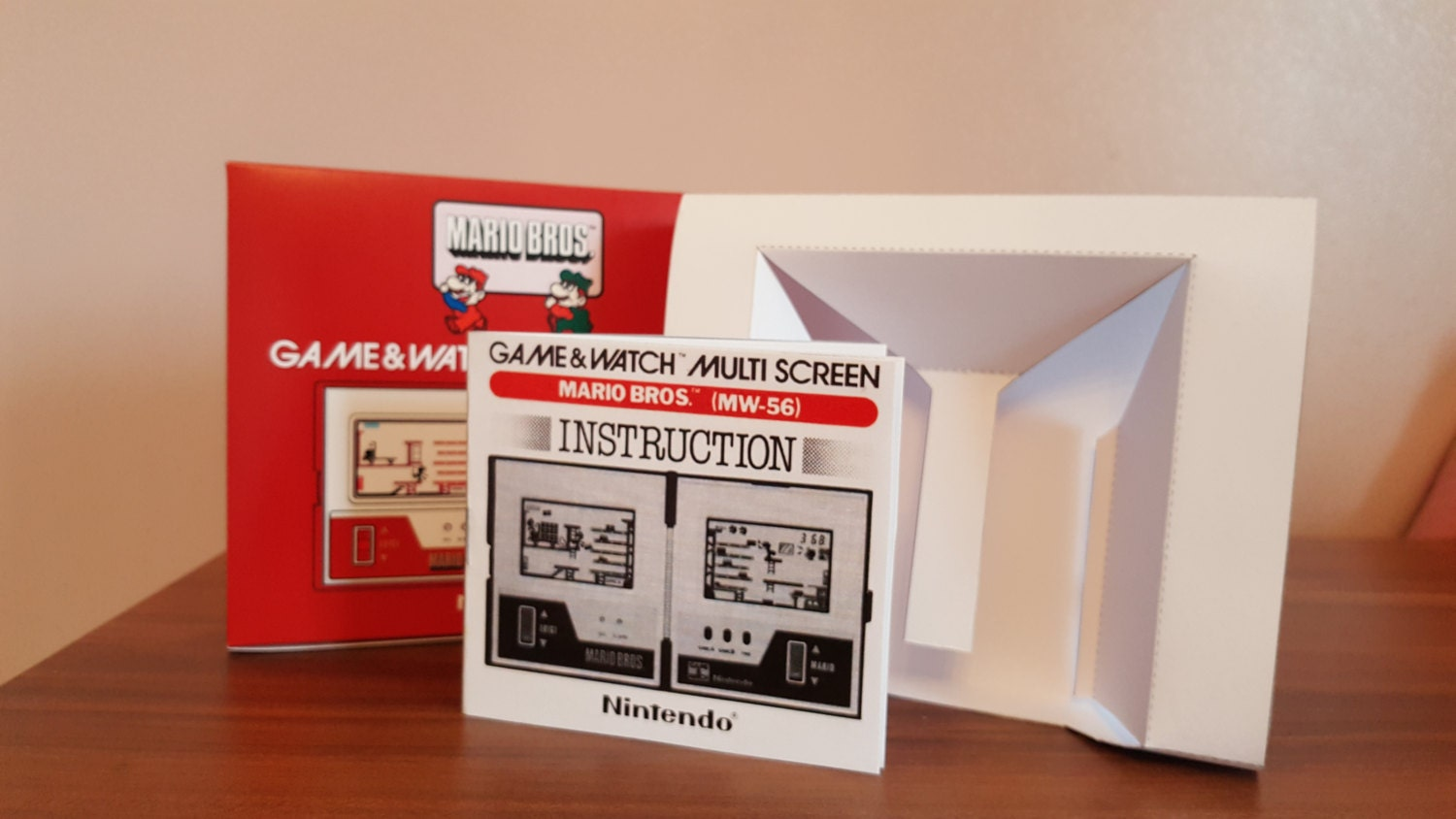 Game  Watch   Mario Bros Reproduction Collection NO GAME INCLUDED