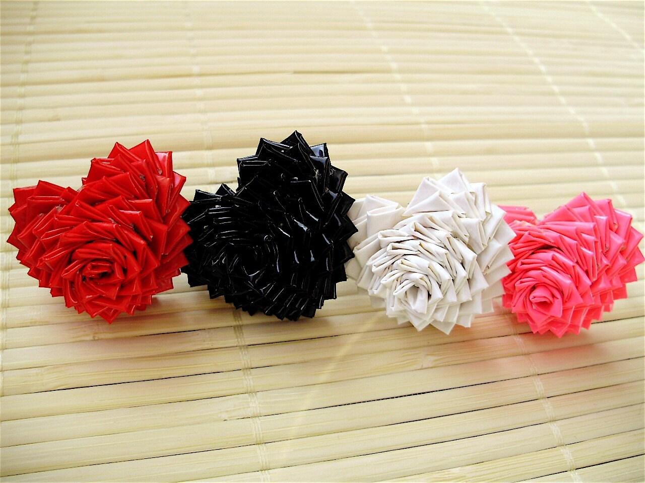 【转载】折纸-首饰花-8 - 荷塘秀色 - 茶之韵