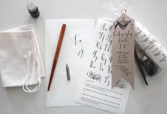Calligraphy Starter Kit - lineacarta