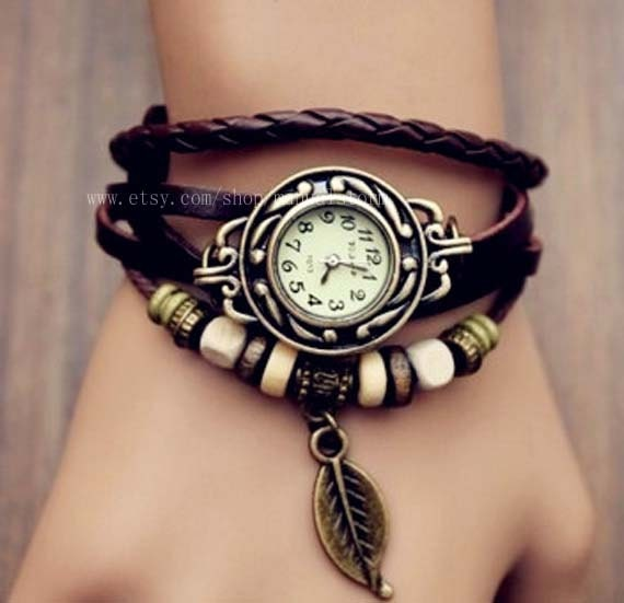 leather wrap leather band wrist by
